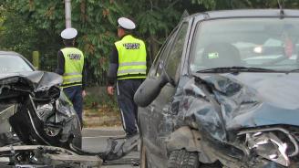 Катастрофа затруднява движението по пътя Плевен-Русе