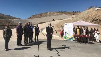Министър Димов откри новата система за управление на отпадъците  на регион Благоевград