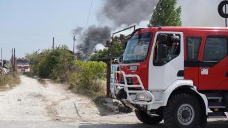 Четири къщи изгоряха при пожар в благоевградското село Бистрица