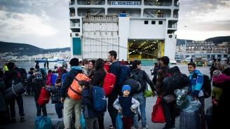 Броят на мигрантите, пристигнали в Гърция през август, се е удвоил