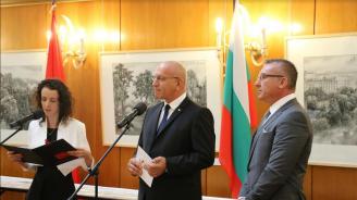 В НС откриха изложба, посветена на 70-ата годишнина от дипломатическите отношения между България и Китай