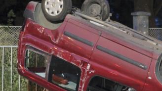 Катастрофа на пътя между селата Окорш и Паисиево: Млад мъж пострада