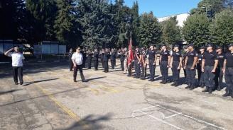 Стажанти от националната полиция положиха клетва в Пазарджик