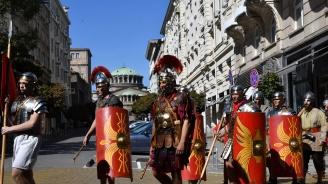 София се превръща в Древен Рим