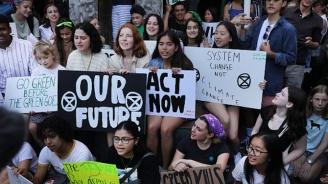 Шествието на младежите за климата се прехвърля от улицата към ООН
