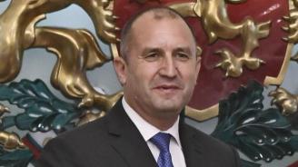 Радев: Нека с разум и самочувствие да работим за изграждането на модерна България