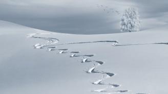 Сняг натрупа по високите места в Черноморска Турция