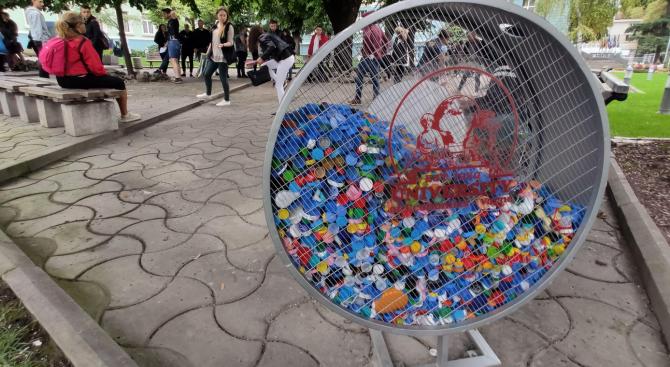 И Икономическият университет във Варна събира капачки