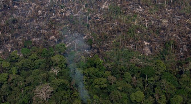 Снимка: Амазония не е наследство на човечеството, заяви Болсонаро