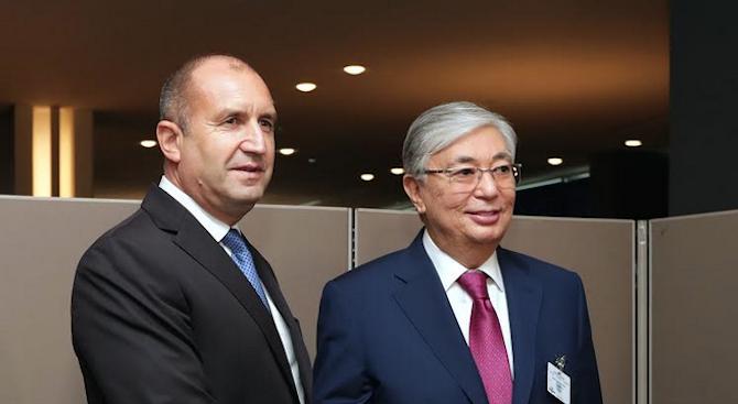 Задълбочаването на двустранните отношения между България и Казахстан и подобряването
