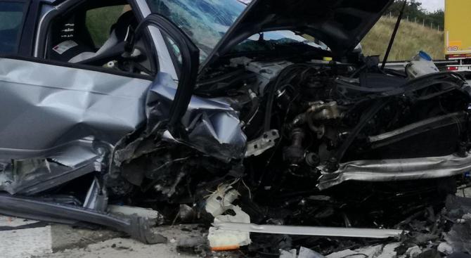 Пътнотранспортно произшествие е станало вчера около 09:10 часа по пътя