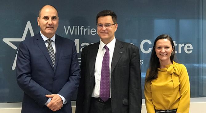 Председателят на Управителния Съвет на Евро-атлантическия център за сигурност Цветан
