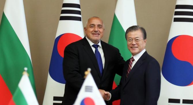 Борисов: За България е приоритет привличането на корейски инвестиции