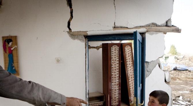 188 вторични труса са били регистрирани след силното земетресение с