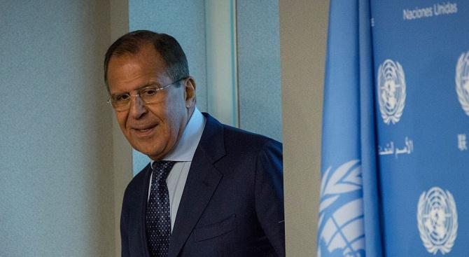 Руският министър на външните работи Сергей Лавров заяви, че полемиката