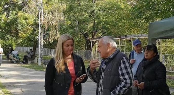 """Наталия Стоянова, кандидат за кмет на район """"Слатина"""" от ГЕРБ/СДС/: Мерилото за успех на едно управление е свършената работа"""