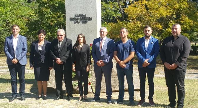 Кандидатът на ПП ГЕРБ за кмет на община Хасково Станислав