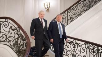 """Джонсън и Тръмп са се споразумели да сключат търговско споразумение до юли догодина, пише в. """"Сън"""""""