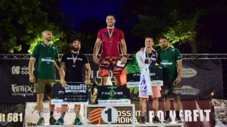 Лука Дукич първенец на международното състезание по функционален фитнес в Пловдив