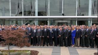 Маринов приветства участниците на 37-мата годишна конференция на Европейската секция на Асоциацията на завършилите Националната академия на ФБР