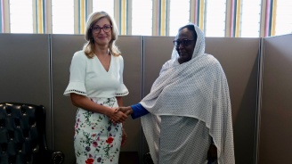 Екатерина Захариева се срещна с първия дипломат на Судан