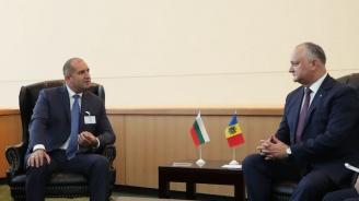 Румен Радев получи уверение от молдовския си колега, че ще се запази статутът на населения с българи Тараклийски район