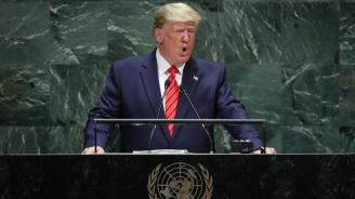 Тръмп с призив: Гордейте се със страната си, бъдещето е на патриотите, а не на глобалистите