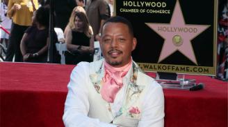 Терънс Хауърд получи звезда на холивудската Алея на славата