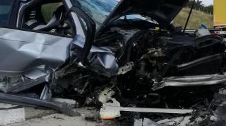 Катастрофа на пътя между селата Овен и Руйно: Има ранен