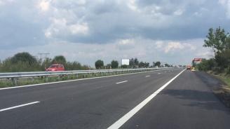 """Движението в 7-километров участък от АМ """"Тракия"""" в посока Бургас се ограничава от утре"""