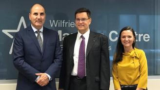 """Цветанов дискутира с Томи Хухтанен възможности за сътрудничество между ЕАЦС и Центъра за европейски изследвания """"Вилфрид Мартенс"""""""