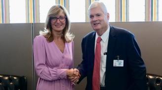 Екатерина Захариева се срещна с колегата си от Коста Рика