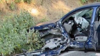 Две катастрофи с ранено дете и мъж в Кърджалийско