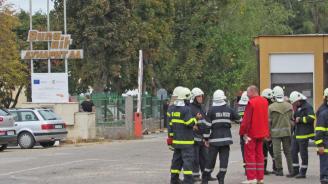 """Ето какво е качеството на въздуха край """"Дунарит"""" след пожара"""