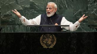 Индийският премиер осъди тероризма пред Общото събрание на ООН