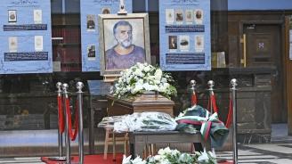 Десетки души почетоха паметта на Любомир Левчев