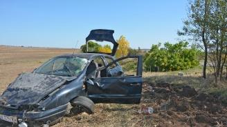 Двама пострадаха при катастрофа в Симеоновградско
