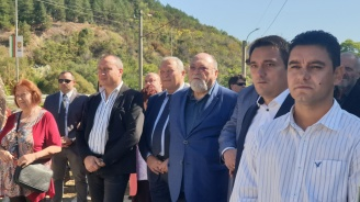 Ивайло Константинов на откриването на мемориала на Дупнишките барикади: Поколенията трябва да имат място, на което да се учат на демокрация