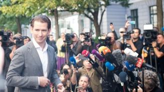 СебастианКурцпечели предсрочните избори в Австрия