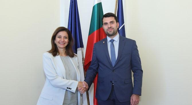 Заместник-министърът на външните работи Георг Георгиев прие принцесата на Йордания,