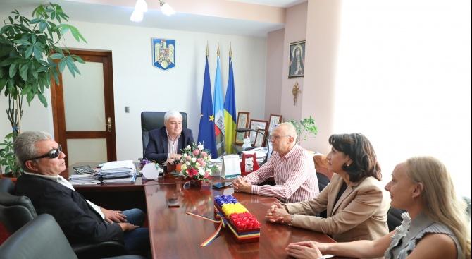 Кметът на Гюргево Николае Барбу подкрепи Диана Иванова за кмет на Русе