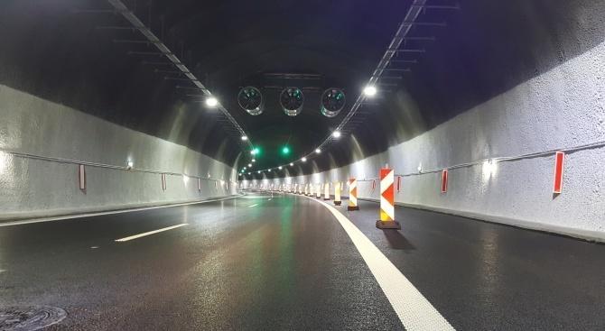 """Ограничават движението в тунел """"Траянови врата"""" на АМ """"Тракия"""""""