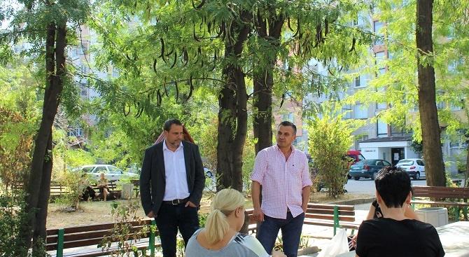 """""""Паркът до паметника на генерал Радко Димитриев ще бъде облагороден"""