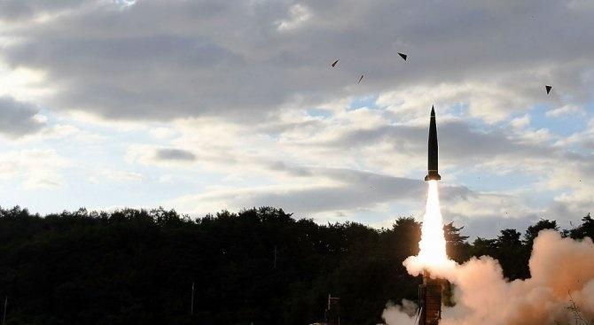 Северна Корея потвърди, че вчера е изстреляла балистична ракета от