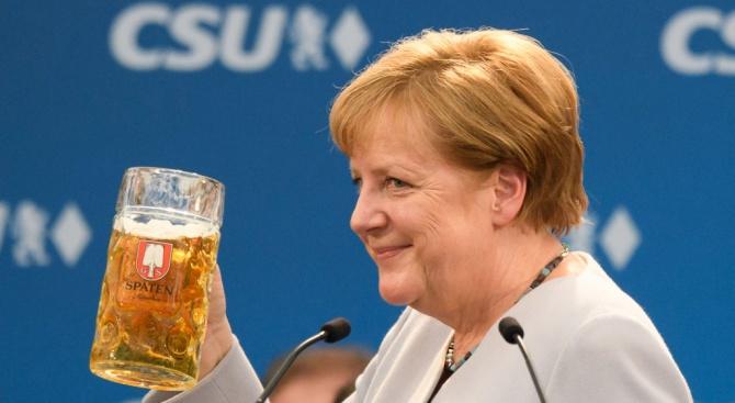 Германският канцлер Ангела Меркел заяви днес, че макар да са