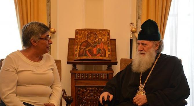 Българският патриарх Неофит се срещна днес с председателя на Съюза