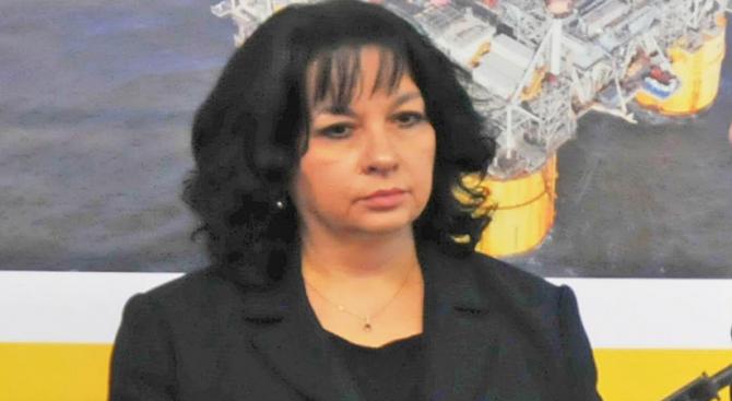 Към днешна дата министърът на енергетиката Теменужка Петкова е оптимист