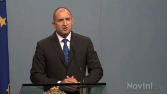 Радев: Приемането на Северна Македония в ЕС е важна стъпка за стабилността на Източна Европа