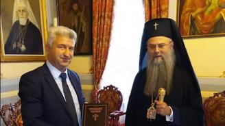 Митрополит Николай даде благословията си на Николай Зайчев за местните избори в Пещера
