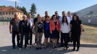 Десислава Танева пожела успех на листата за общински съветници на ГЕРБ в Първомай